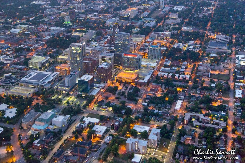 Raleigh aerial 12