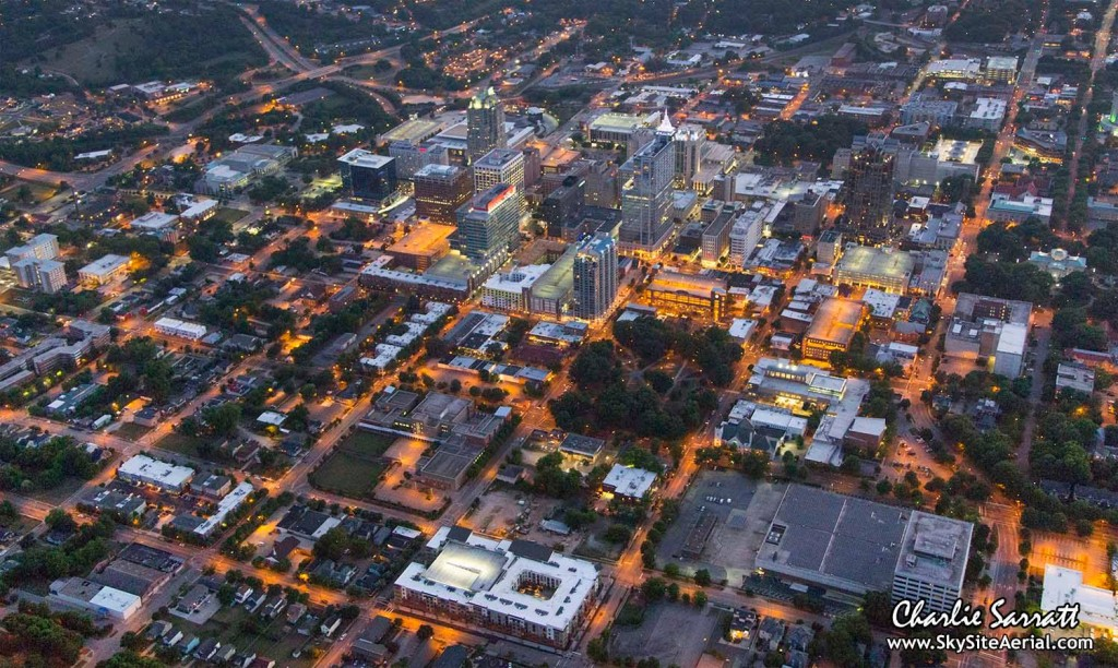 Raleigh aerial 14