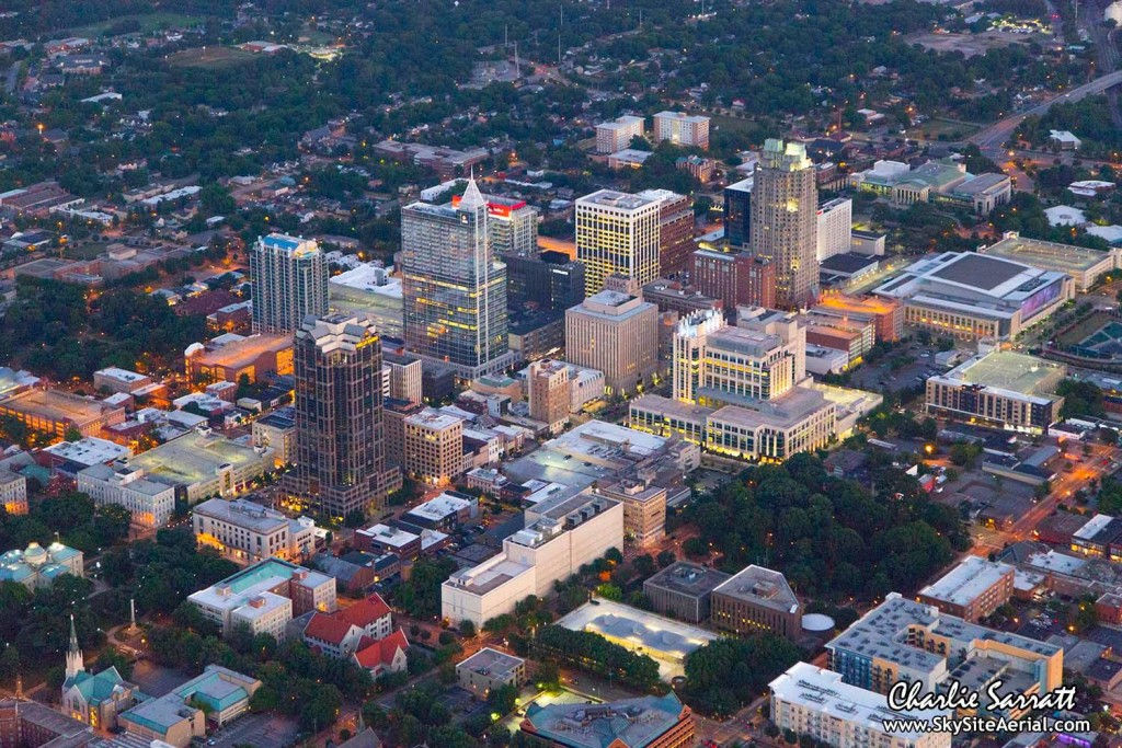 Raleigh aerial 9